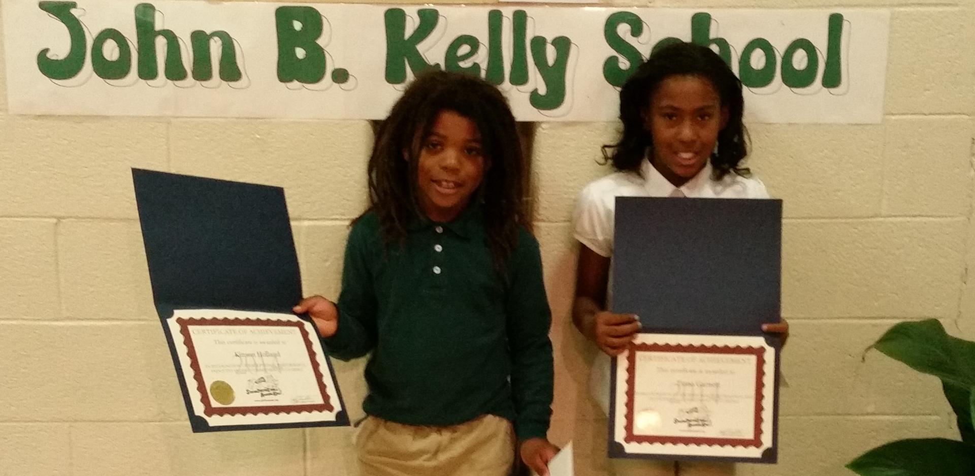 Winners from John B. Kelly School_edited