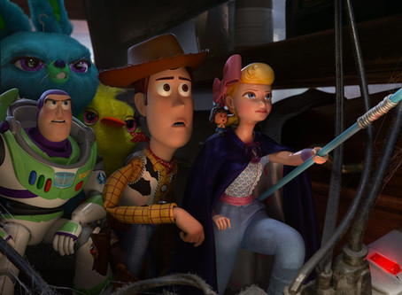 Toy Story 4 ★★★1/2