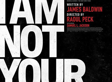 I Am Not Your Negro ★★★ 1/2