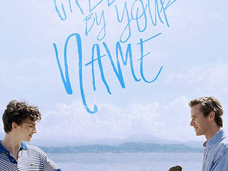 Call Me by Your Name ★★★ 1/2
