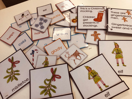 Christmas is coming! 🎄And so are Montenglish Vocabulary Enrichment Sets! 😍