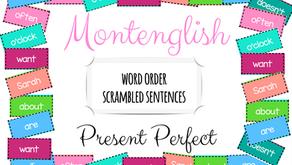 After a long break - a new set of Scrambled Sentences!