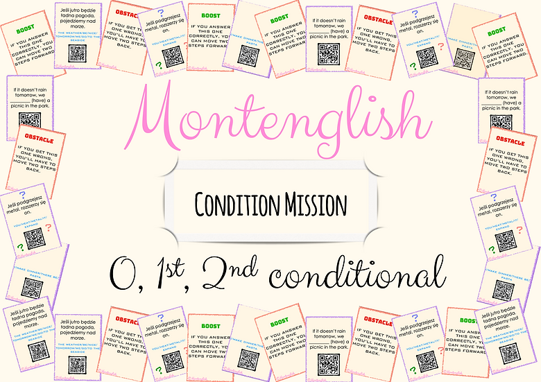 Condition Mission game