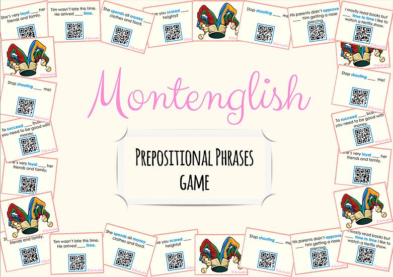 Prepositional Phrases Game