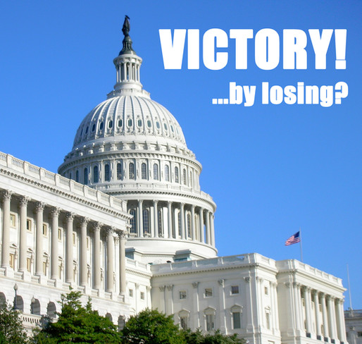 Food Stamps: Victory! (By losing?)