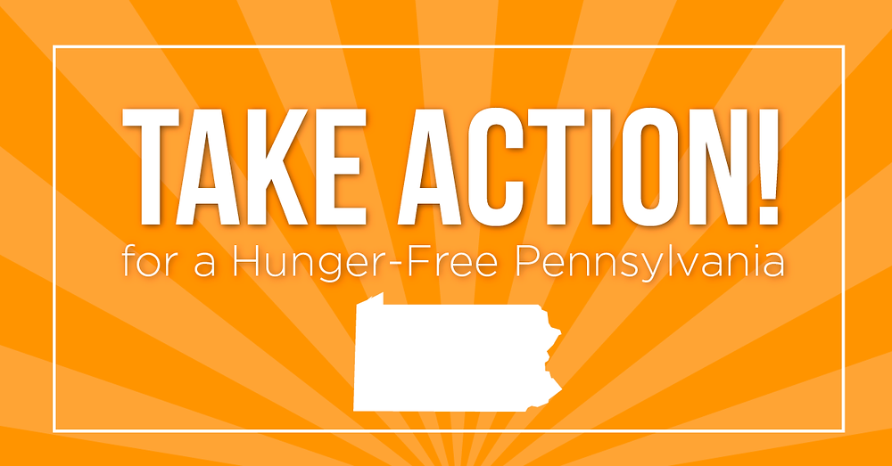Take Action for a Hunger-Free Pennsylvania