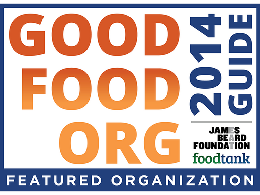 Good Food Org Guide Featured Organization!