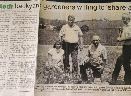 LOOKING BACK: Backyard garden programs blossomed into PASS