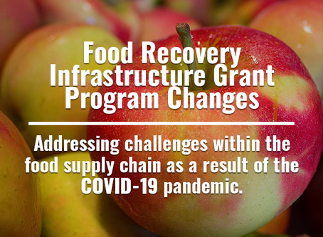 Wolf Administration Expands Food Recovery Infrastructure Grants to Help the Charitable Food System