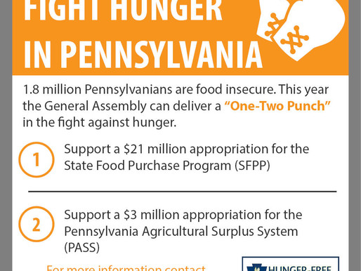 Fighting Hunger with the One-Two Punch