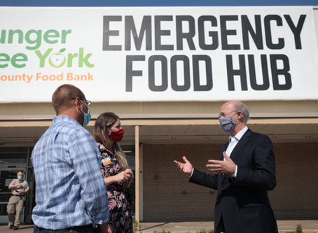 Gov. Wolf Thanks Pennsylvania's Food Banks for Helping Those in Need