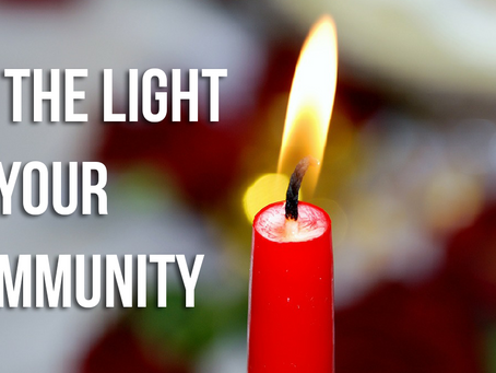 Be the Light in Your Community