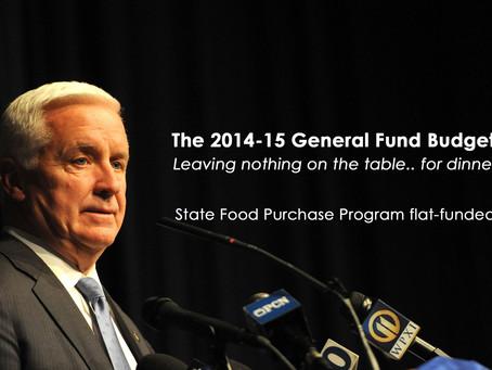 2014-2015 General Fund Budget Passage