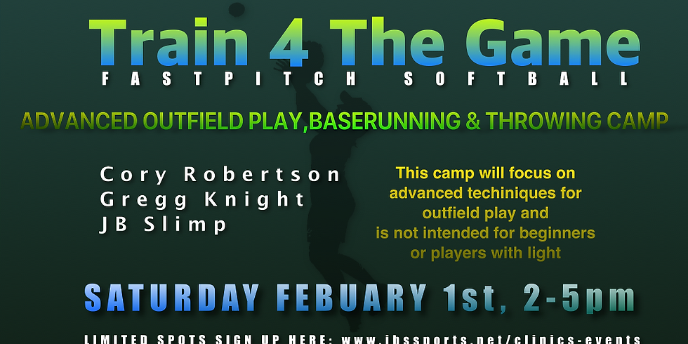 Train 4 The Game Advanced Outfield Play