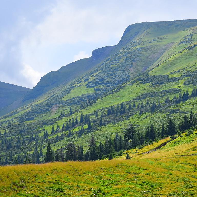 Iker-havas (Bliznyica) és Fagyalos-hegység (Szvidovec), Fekete-Tisza forrás