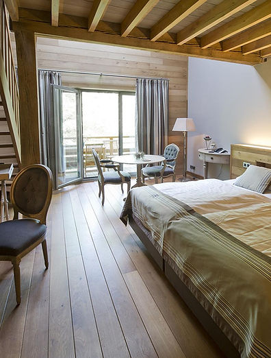suite exceptionnel bois design hôtel bouillon ardenne