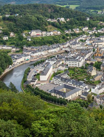 Bouillon vue du Belvédère Ardenne belge