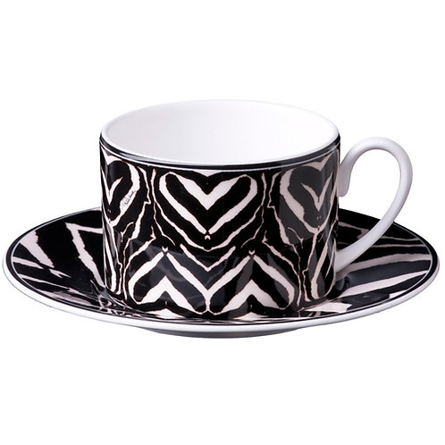 ZEBRA 斑馬 茶杯盤