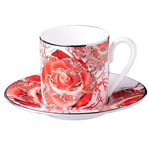 ROSE JEWEL 玫瑰寶石 咖啡杯盤