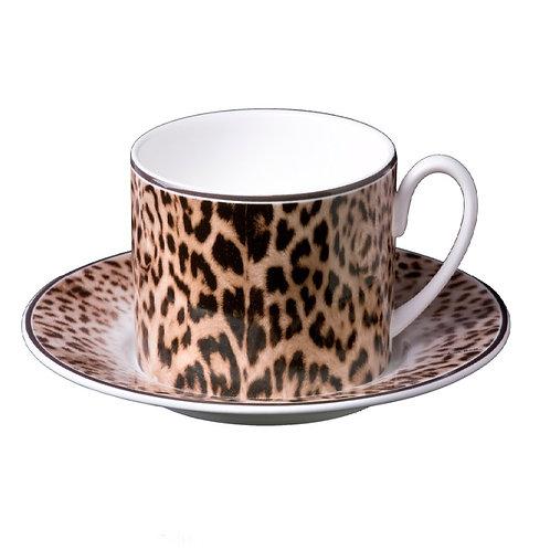 JAGUAR 美洲虎 咖啡杯盤