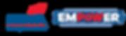 2020 Empower Logo blue-Horiz CMYK and sl