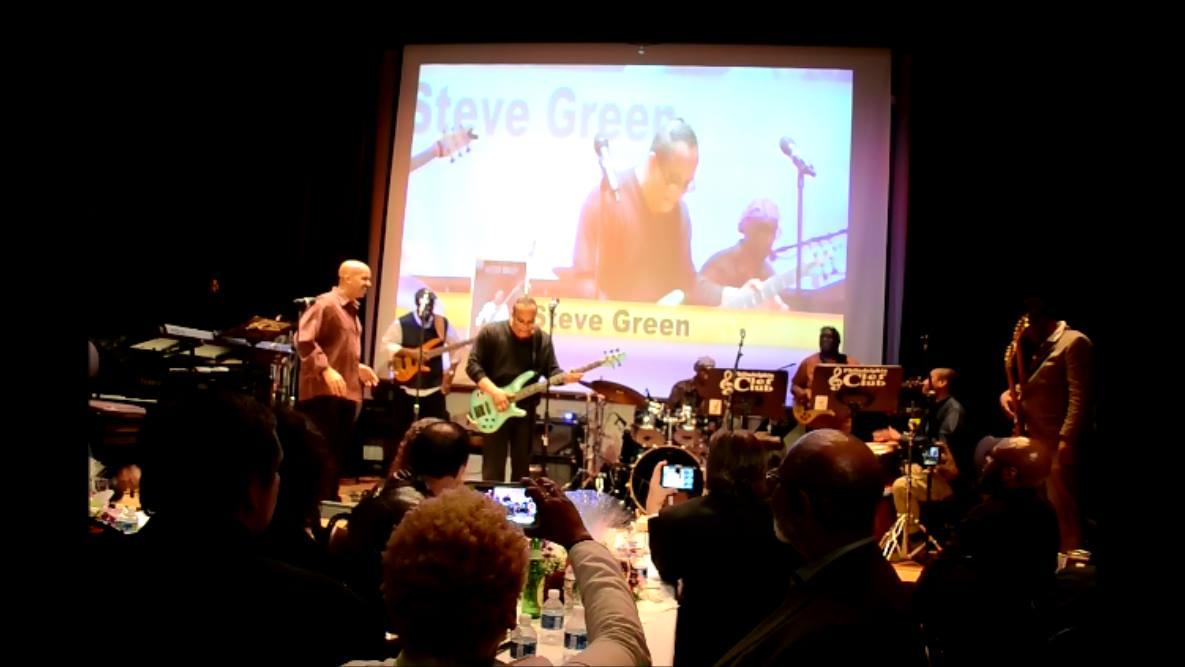 Steve Green at Naava's VB's Benefit