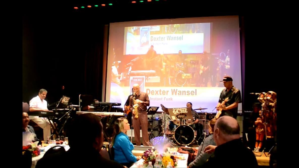 Dexter Wansel at Naava's VB's Benefit