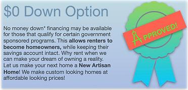 0 down option - New Artisan Homes.jpeg