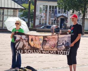 19.09.2020 Tierschutz VA in Freudenstadt. Unterstützung der Aktivistengruppe XOrga