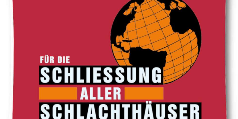 """Unterstützung ARIWA """"Schließung aller Schlachthäuser"""" in Stuttgart"""