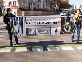 Ampelaktion_08.04.2021 in Offenburg Them