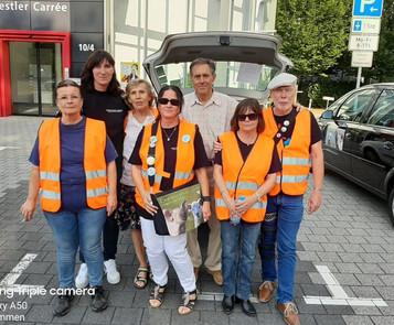 Das Team vom 02.08.2020 in Lahr. Unterstützt von zwei Aktivisten von ProVeg