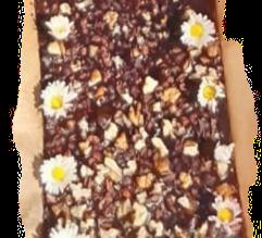 Roher Schokokuchen (Brownie) lecker und gesund!