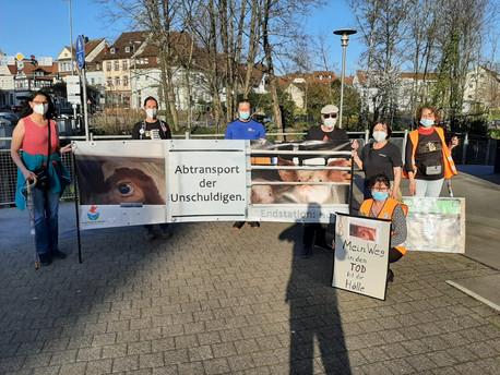 31.03.2021 Ampelaktion in Offenburg