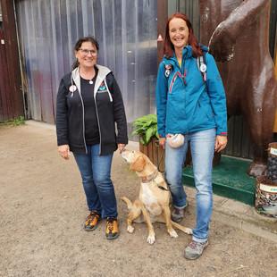 Heike, Corina und Molly