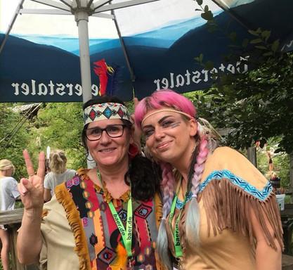 Vera und Corina_Indianerfest_2018