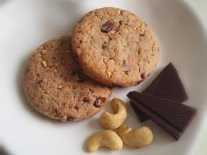 Cashew Schoko Cookies