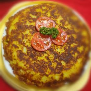 Vegane spanische Tortilla