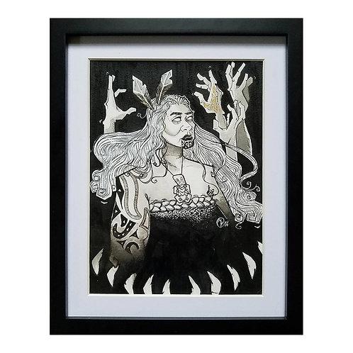 The Great Woman Hine-nui-te-pō - Original