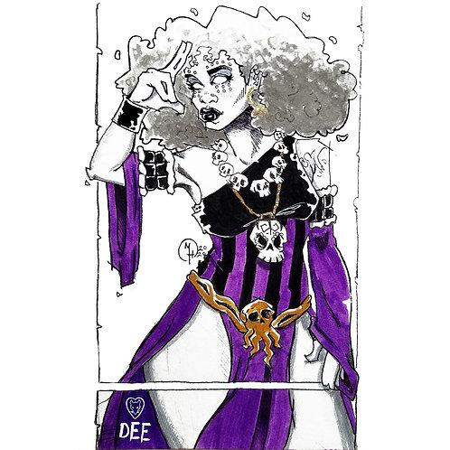 Dee (Rat Queens) - Fan Art
