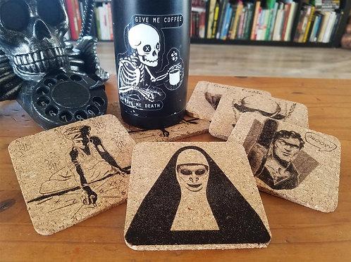 Creepy Coasters - Set of six
