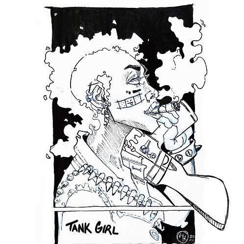 Tank Girl - Fan Art