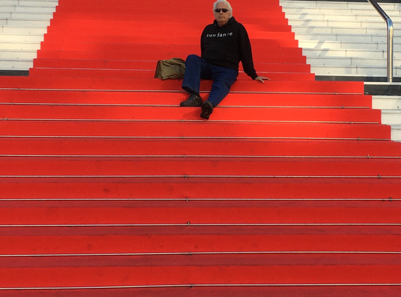 On the Red Carpet at Nice. Off season.
