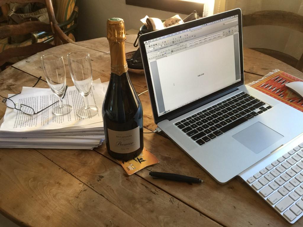 Second rewrite completion celebration.