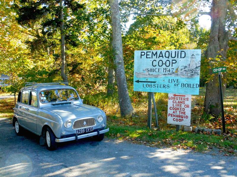 Pemaquid Seafood, near Kim's workshop