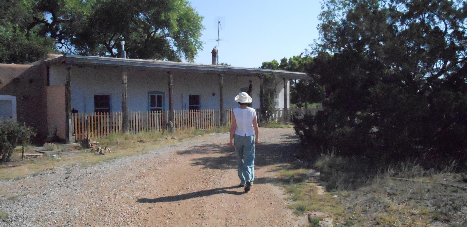 KJ at La Loma above El Rancho de las Golondrinas