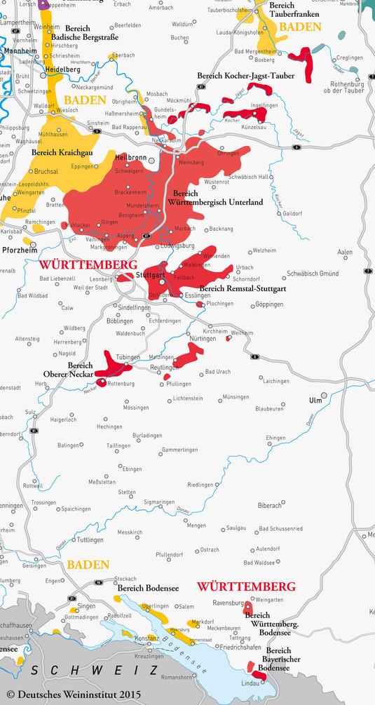 Deutscher Wein aus Württemberg