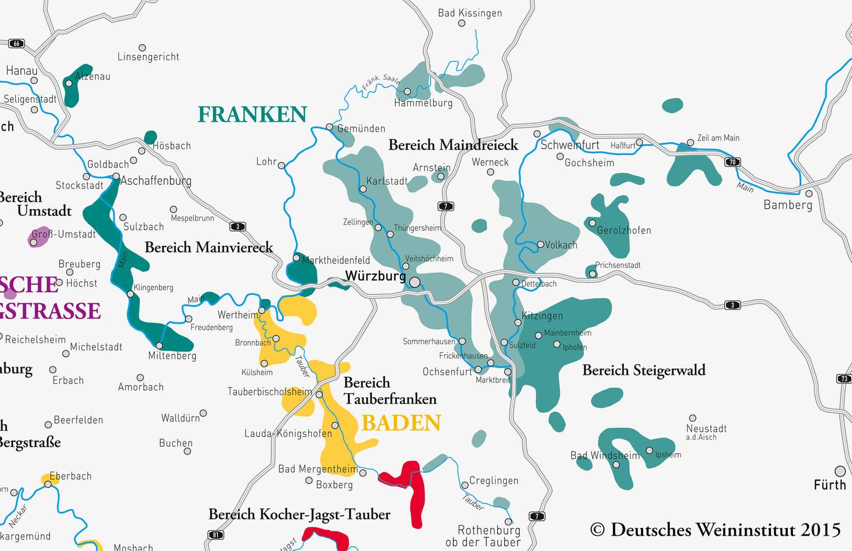 Deutscher Wein aus Franken