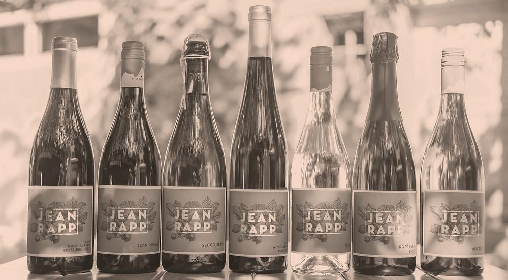 Veganer Wein vom Weingut Jean Rapp - alle Weine sind vegan hergestellt.