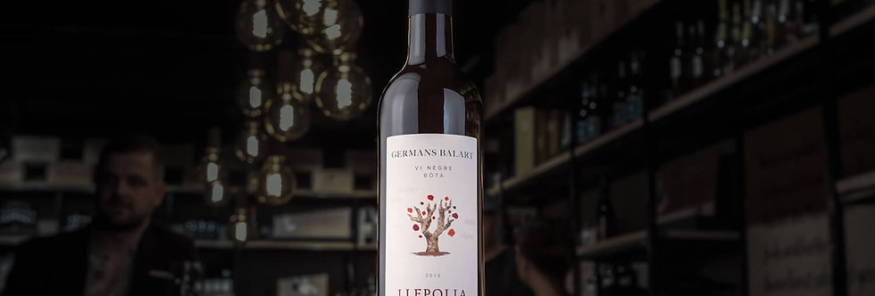 Llepolia negre ist eine Cuvée aus Grenache, Merlot und Carignan aus der spanischen Region Terra Alta.